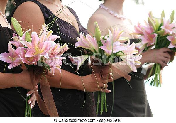 damas de honor - csp0425918