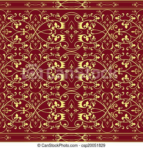 Damasc seamless pattern background - csp20051829