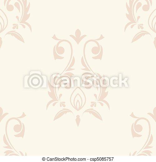 Damask background - csp5085757