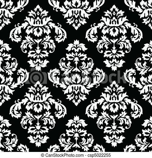 Damask Pattern - csp5022255