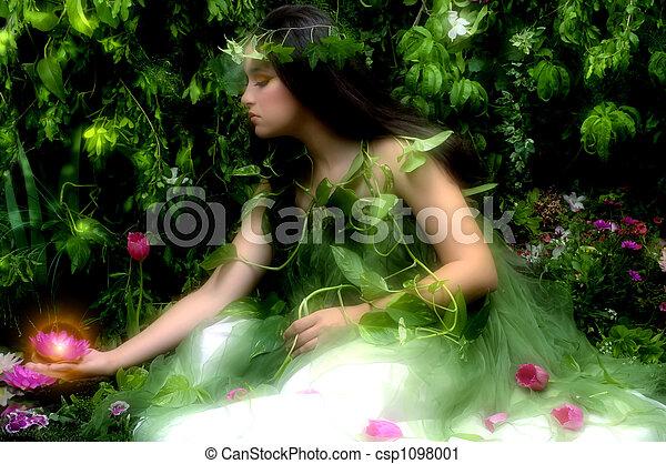 dame nature - csp1098001