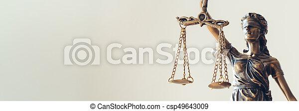 dame, statue, justice - csp49643009