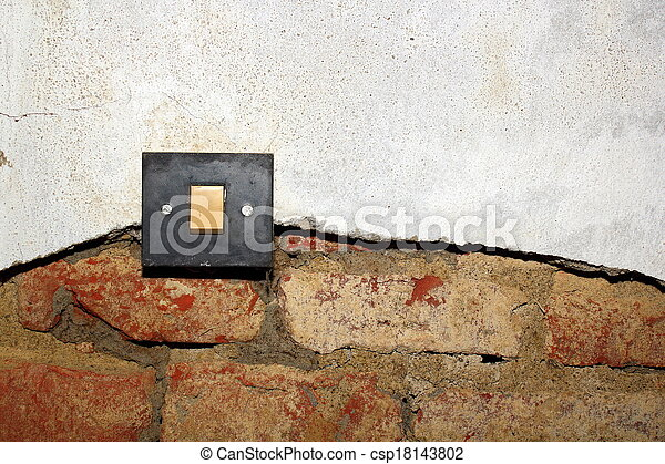 damp on wall - csp18143802