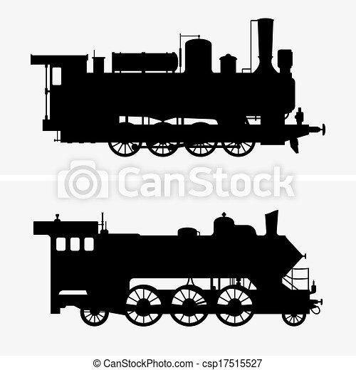 dampf- lokomotiven - csp17515527