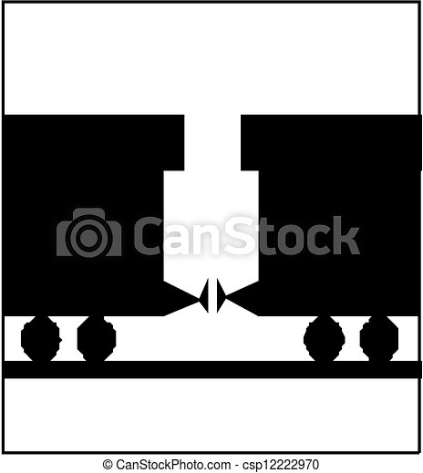 dampflokomotive - csp12222970
