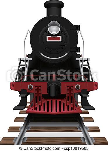 dampflokomotive - csp10819505