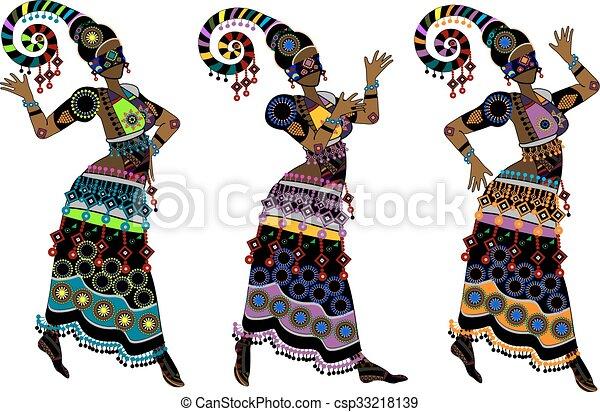 dança, étnico - csp33218139