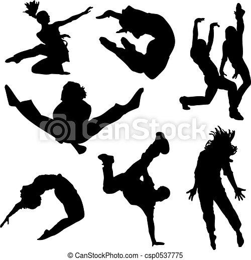 dança, pessoas - csp0537775