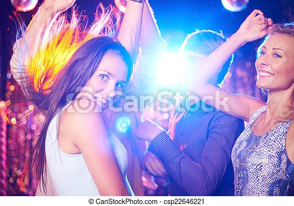dance-floor, clubbers - csp22646221