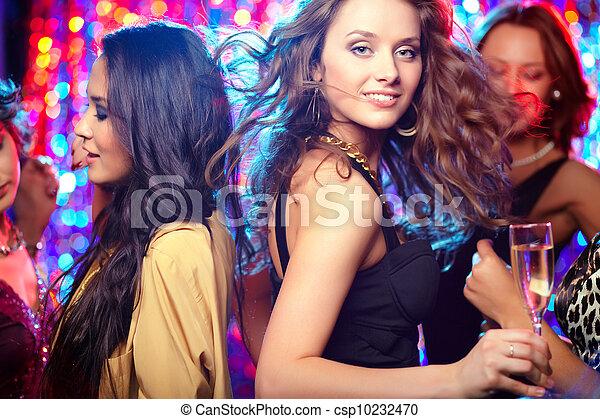 Dance floor - csp10232470
