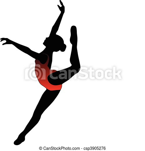 dance girl ballet silhouettes dance girl ballet collection rh canstockphoto com free ballet clipart images free ballet clipart images