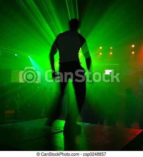 Dancer In Action - csp0248857