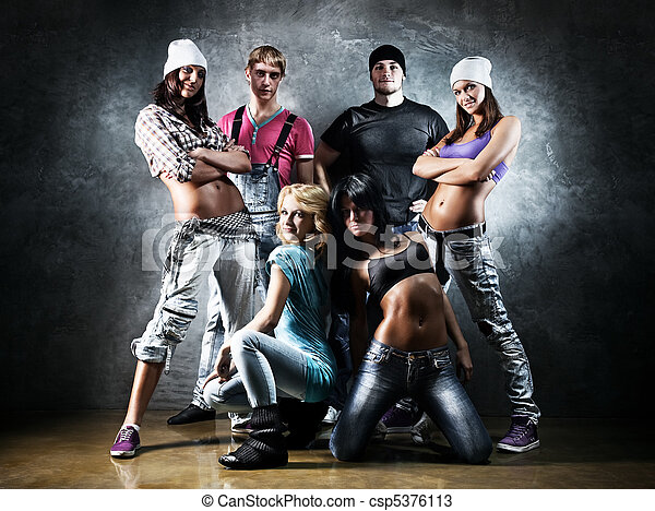 Dancer team - csp5376113