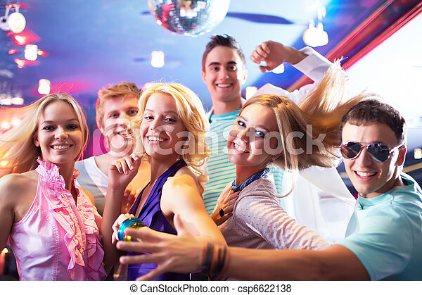 Dancing at party - csp6622138