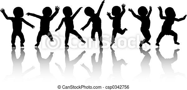 Dancing babies - csp0342756