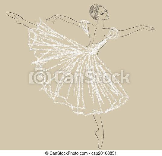 dancing ballerina - csp20108851