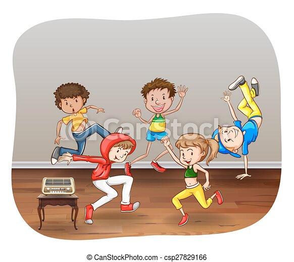 Dancing - csp27829166
