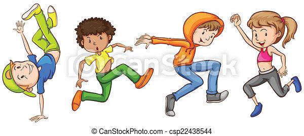 Dancing - csp22438544