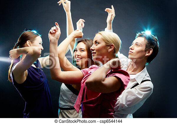 Dancing people - csp6544144