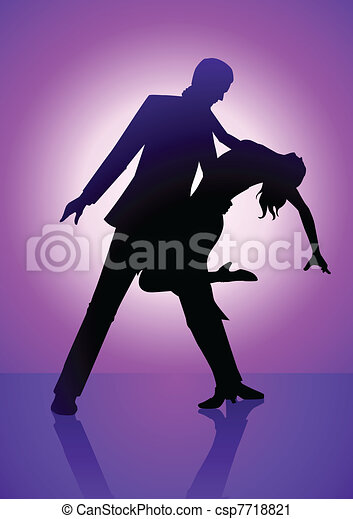 Dancing Purple - csp7718821
