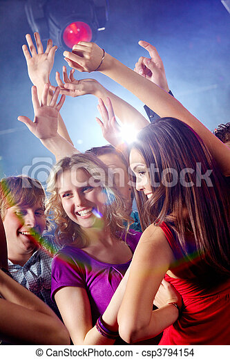Dancing together - csp3794154