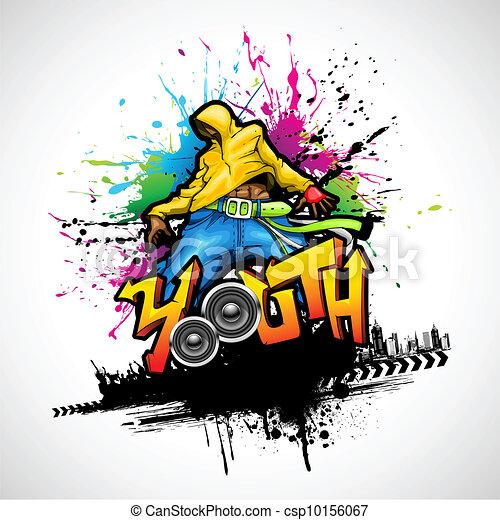 Dancing Youth - csp10156067