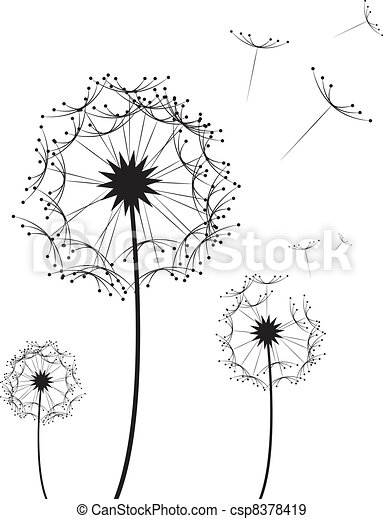 Dandelion Flower  - csp8378419