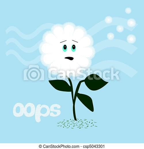 dandelion oops - csp5043301