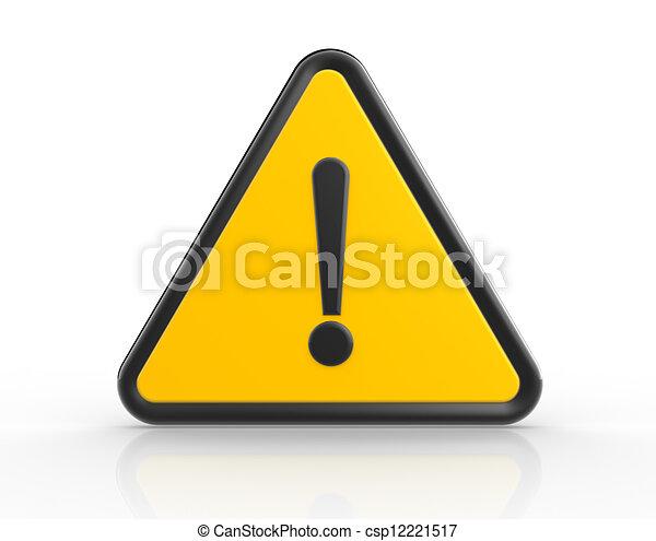 Danger - csp12221517