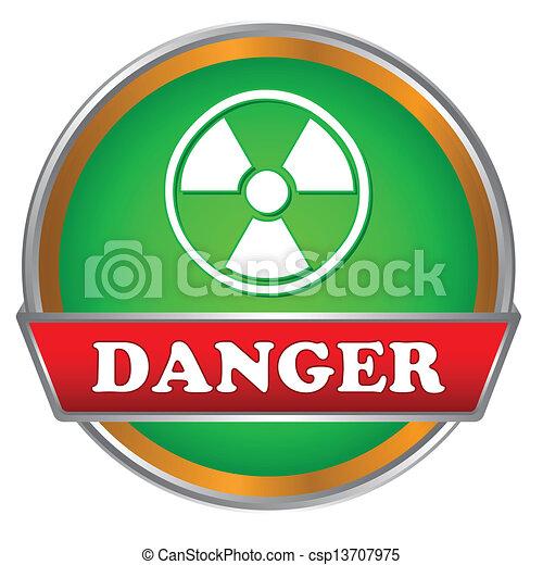Danger logo - csp13707975