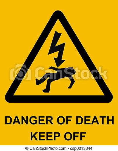 Danger of death - csp0013344