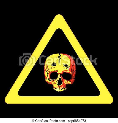 Danger sign - csp6854273