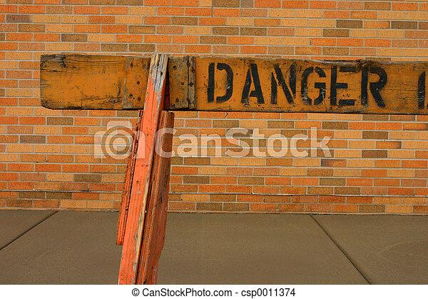 Danger Sign - csp0011374
