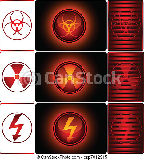 Danger Signs - csp7012315