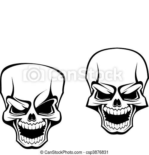 danger skull as a warning or evil concept vector clip art search rh canstockphoto com skull vector art free skull vectoriel