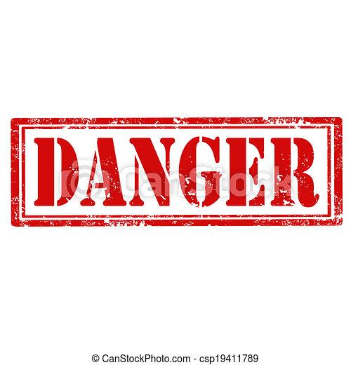 Señal de peligro - csp19411789