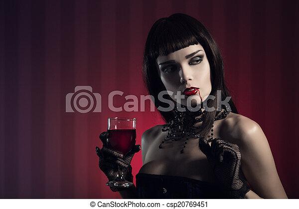 girls Sexy vampire