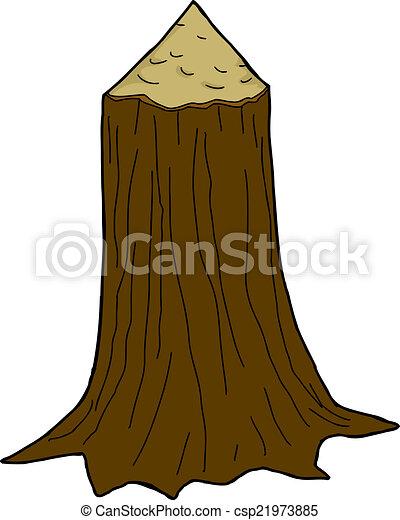Danificado Tronco %C3%A1rvore 21973885 on Natural Christmas Tree