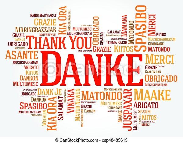 Dankeschön Englisch