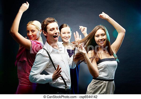 dans, förehavanden - csp6544142