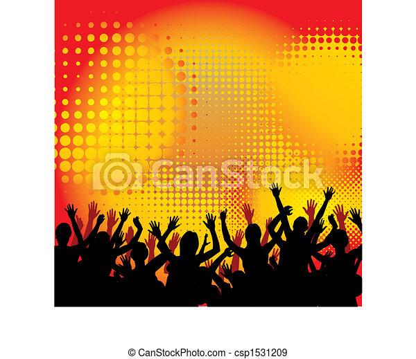 danse, fête, musique - csp1531209