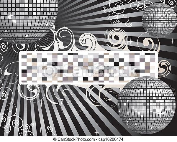 danser balle, fond - csp16200474