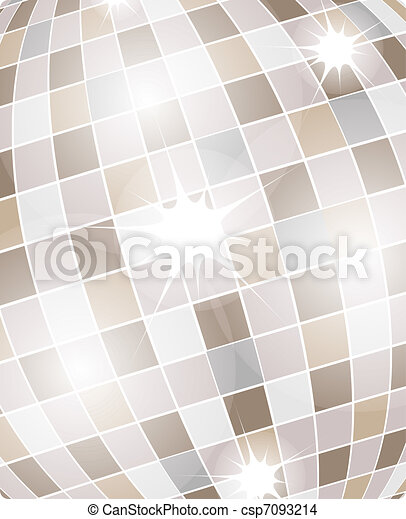 danser balle, fond - csp7093214