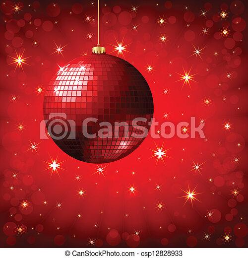 danser balle, fond, vecteur - csp12828933