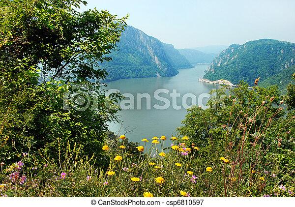 Danube canyon - csp6810597