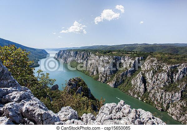 Danube gorge - csp15650085