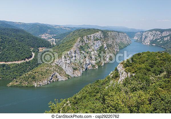 Danube gorges - csp29220762