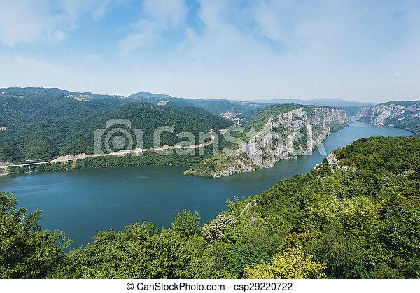 Danube gorges - csp29220722