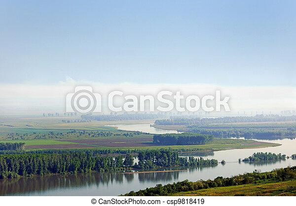 Danube river - csp9818419