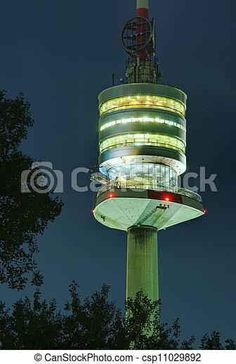 Danube tower in Vienna - csp11029892